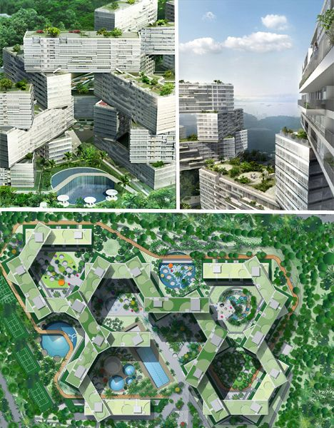 Interlace Residential Complex, Singapore