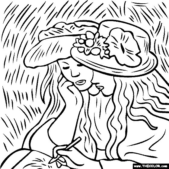 gustave auguste coloring pages - photo#2