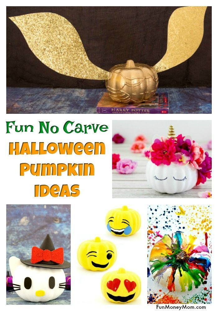 Easy No Carve Pumpkin Ideas For The Entire Family