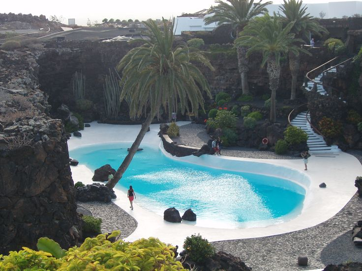 Jameos del Agua nel Haría,  Lanzarote, Canarias