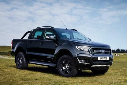 Limited Ford Ranger Black Edition pick-up truck revealed :  Ford has revealed a new special edition pick-up truck  a Black Edition Ranger which will be on show at the Frankfurt Motor Show later this month.  Its based on the Ranger in Limited specification but boasts a blacked out look thanks to an extensive de-chroming job. The body is finished in Absolute Black with a black finish on the radiator grille while the alloy wheels rollover bars and exterior detailing is also all-black.   Best…