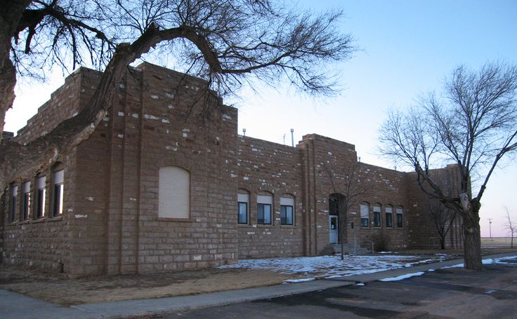 Built by labor managed under the New Deal's Works Progress and Civil Works administrations, Las Animas County's 1930s Kim Schools--comprising a gym, elementary school, and high school--stand as a symbol of the programs' power to vitalize Colorado's eastern plains towns. Unfortunately, today the buildings face threats of demolition and decay from pressure to upgrade technology with new construction. #PreserveCO