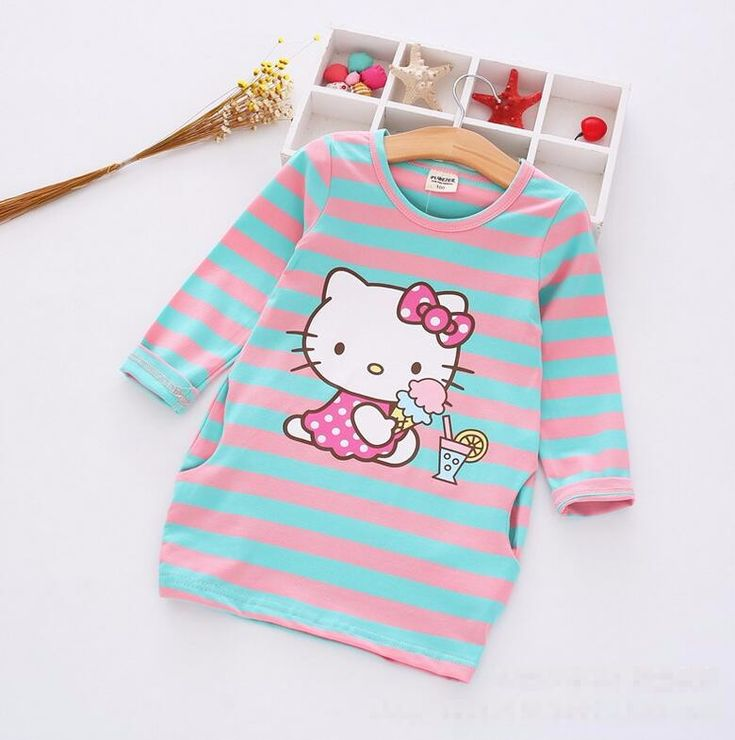 Girls Dress Hello Kitty and many cartoon  2-7 Years Children HelloKitty Party    Very Cute ! !  Like and share!   Get yours here  http://HelloKittyParty.com   #hellokittylover #hellokitty #hellokittyaddict