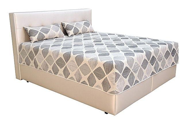 Box-spring posteľ.