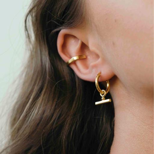 Chloé Sleepers - Gold - Flash Jewellery