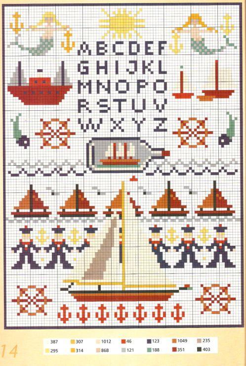 Gallery.ru / Фото #13 - Burda Special-230 цветных мотивов для вышивки крестом - Orlanda