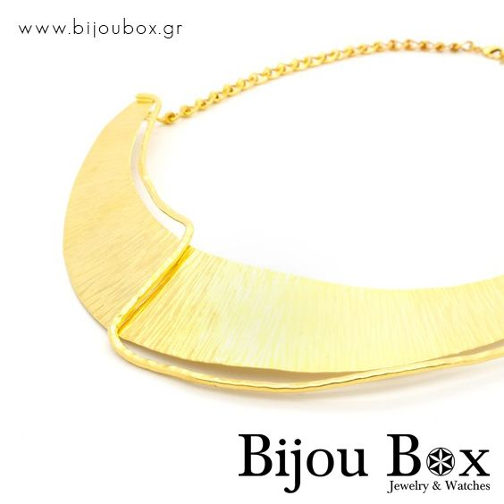 Necklace bronze gold plated OLIGE Κολιέ μπρούτζο επίχρυσο OLIGE Check out now... www.bijoubox.gr #BijouBox #Necklace #Κολιέ #Handmade #Χειροποίητο #Greece #Ελλάδα #Greek #Κοσμήματα #MadeinGreece #Gold #jwlr #Jewelry #Fashion