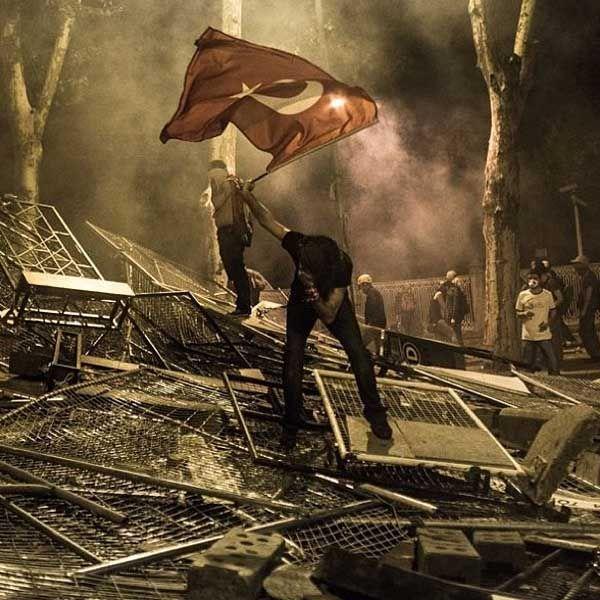 Gezi Parkı photos; We were defending our garden.