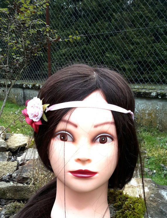 Headband bohème couronne de fleurs bohème by ladiejaneclothes