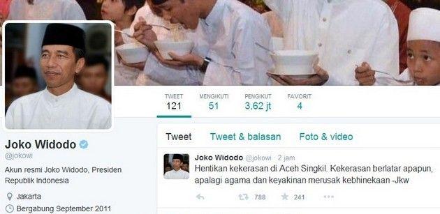 Menanti Jokowi Mengundang Pembakar Gereja Ke Istana