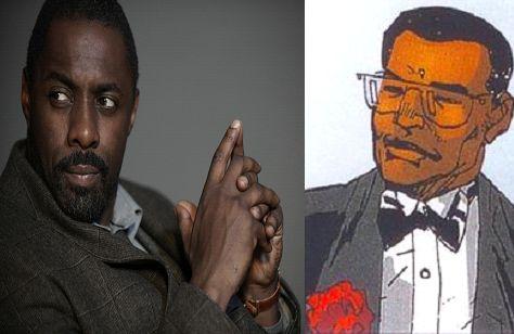 Idris Elba comme Lucius Fox