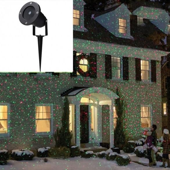 New Outdoor Waterproof Christmas Party Lights Projector Moving Lights