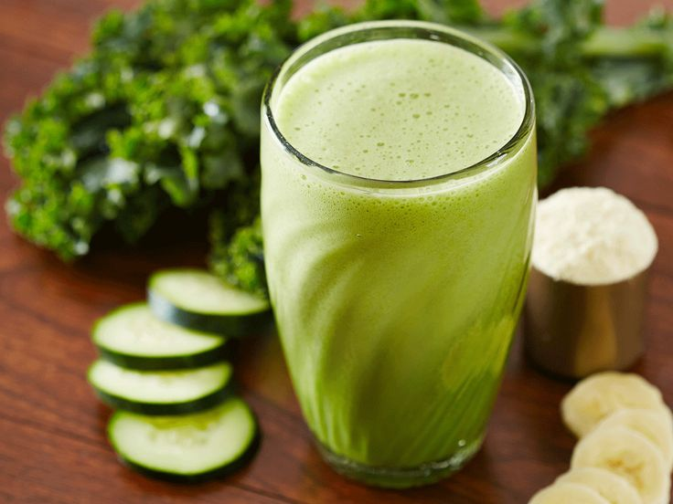 Silk green goddess smoothie - except I use silk cashew or almond milk (soy is bad for you)