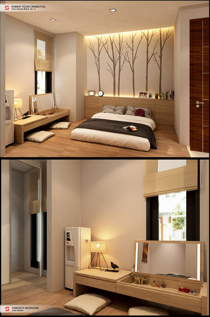Bedroom (for Parent) D House Residential Medan, Sumatera Utara Indonesia