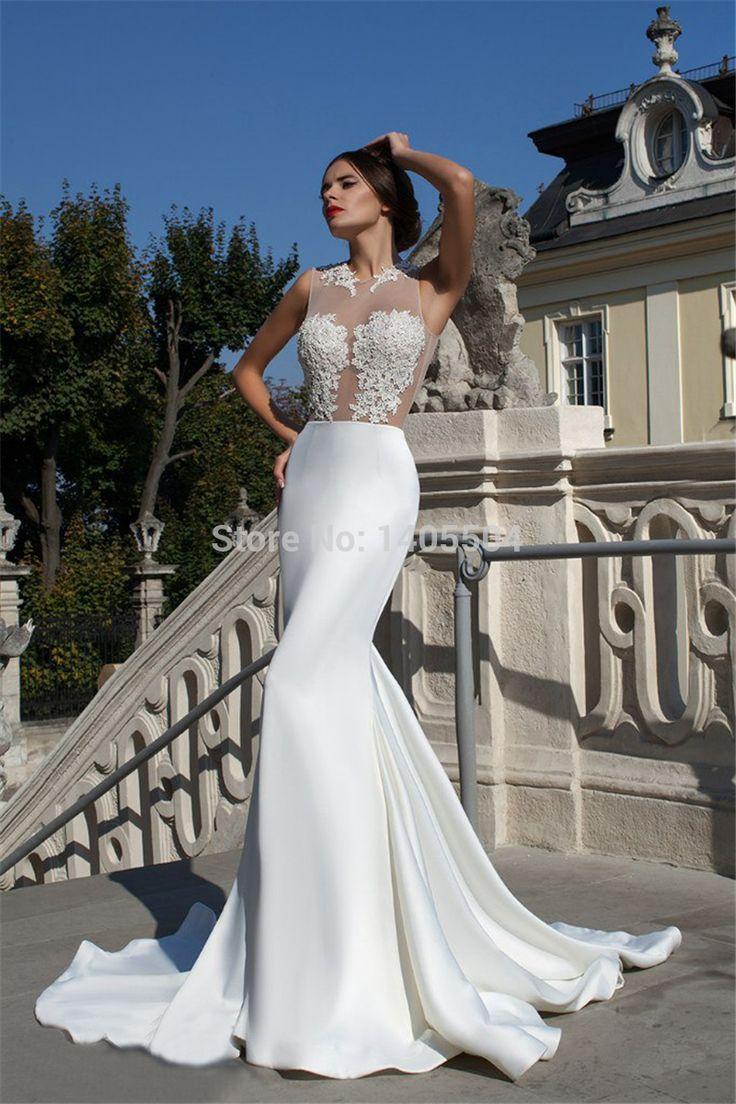 651 best Wedding Dresses images on Pinterest | Wedding frocks, Short ...