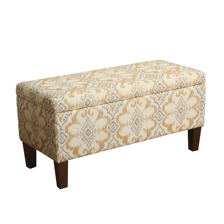 Decorative Storage Ottoman