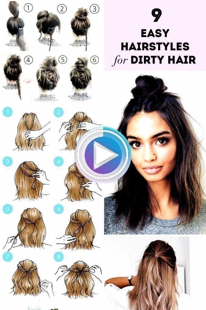 25 Peinados semirecogidos casuales