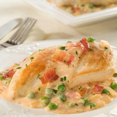 Chicken Carbonara Rosa