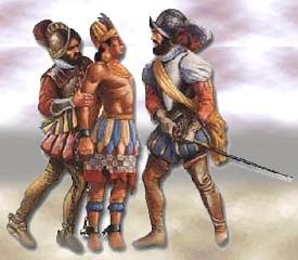 The last Incan king, Atahualpa, was murdered on orders from Spanish conqueror Francisco Pizarro.