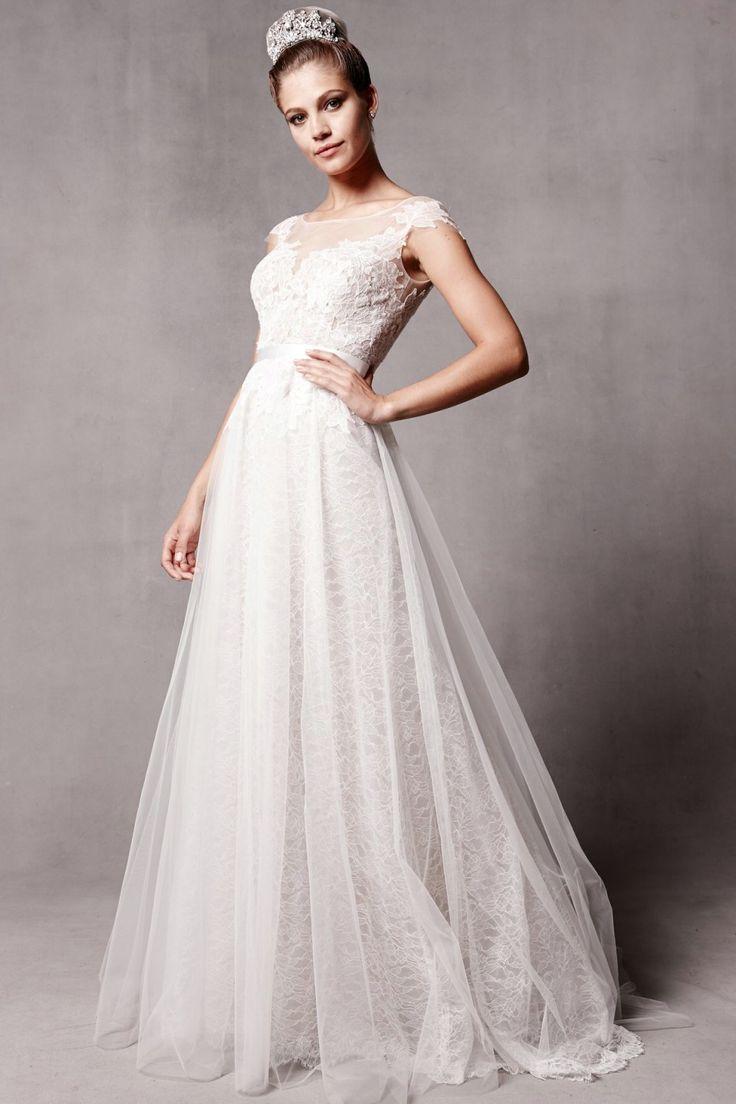 Short wedding dresses for older brides   best Wedding Dress images on Pinterest  Bridal gowns Bridal