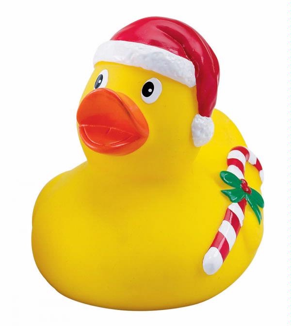 Christmas Duck Collect Some For Holidays For Grandlittles To Use Either On The Table Or In The Bathtub Carrying Alon Rubber Duck Rubber Ducky Christmas Duck
