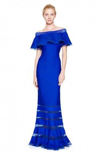 6L16206LXY Sukienka wizytowa #eveningdress #bluedress #longdress