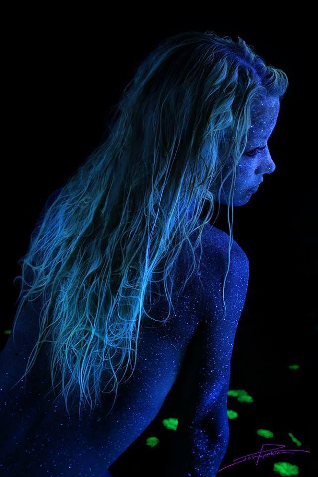 Best John Poppleton Black Light Art Images On Pinterest Black - Amazing black light body art photography john poppleton