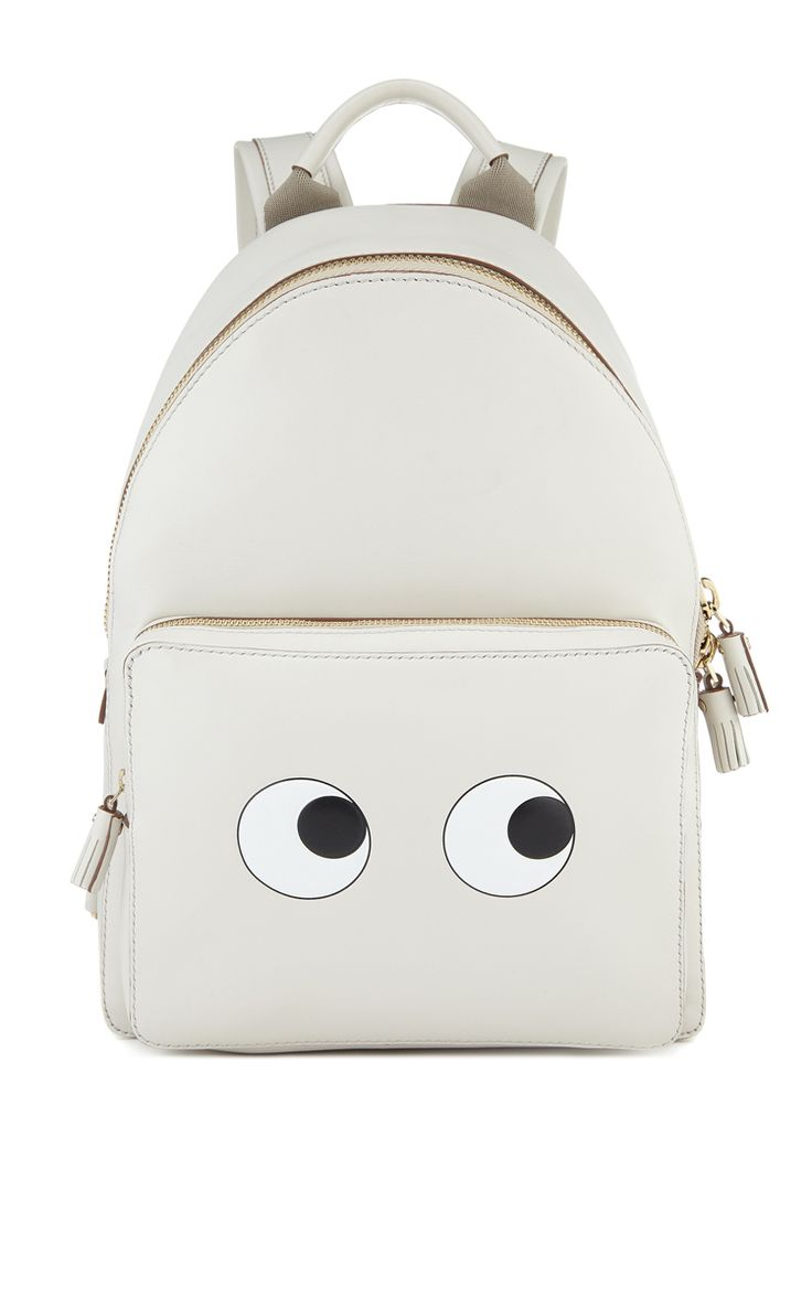 Anya Hindmarch Eyes Right Mini Chalk Backpack