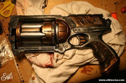 comment peindre un pistolet nerf blaster mag costume cosplay pinterest fils comment et nerf. Black Bedroom Furniture Sets. Home Design Ideas