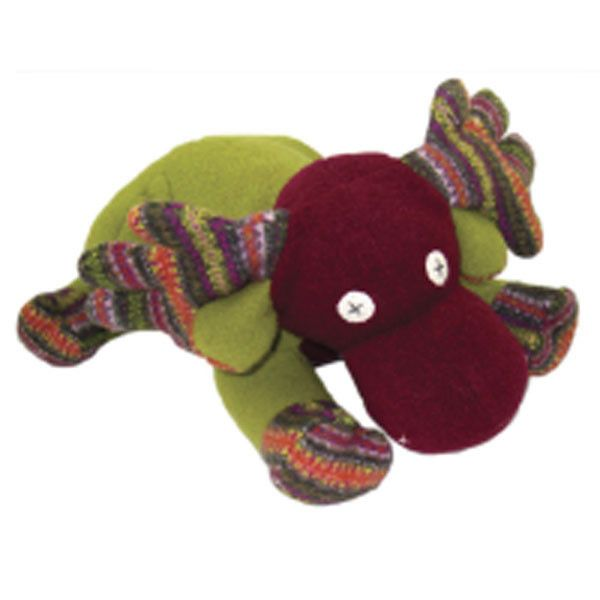 Timeless Reclaimed Wool Stuffed Animals - Moose