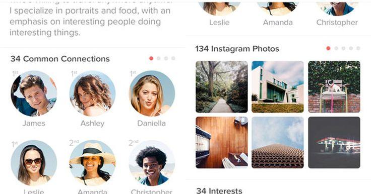 Tinder passa a mostrar fotos do Instagram de usuários
