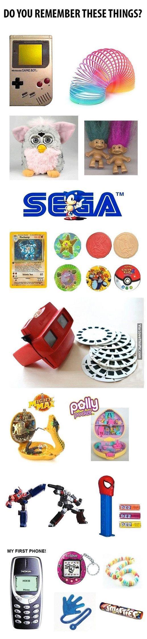 Do You Remember These Things? fun memories toys nostalgia 90s