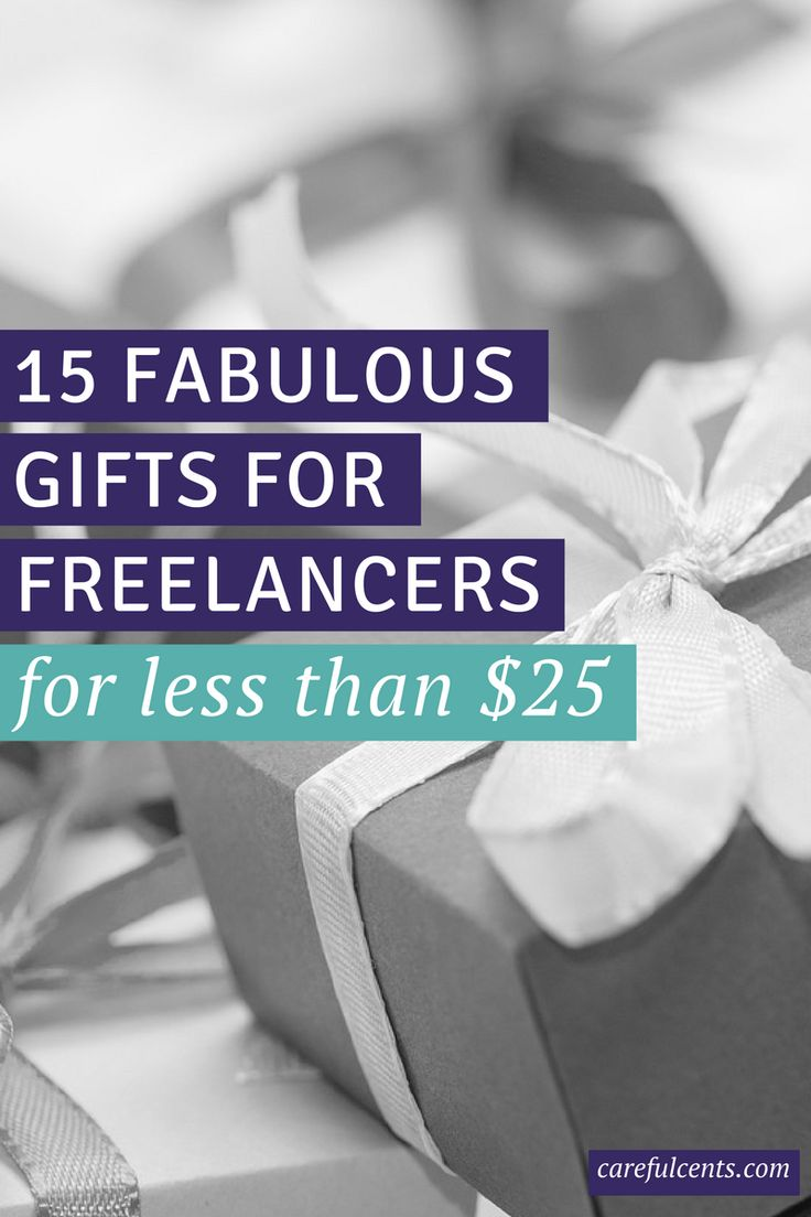 Looking for the best freelancer gifts for the holidays? Check out this in-depth gift guide with options that cost less than $25 each.