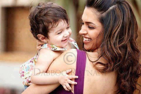 Deepika Padukone and some kid