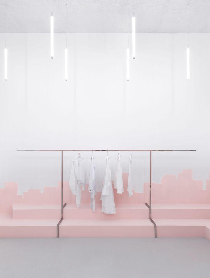 15 Exquisite Minimalistische Kuche Hdb Ideen Exquisite Hdbideen Ideen Kuche Minimali Shop Interior Design Minimalist Decor Minimalist Interior