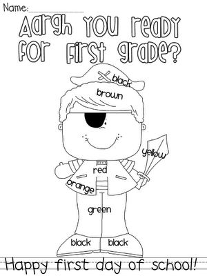 Welcome to First grade: pirates and first day of schoolClassroom Theme, Schools Ideas, Schools Pirates, Schools Work, Education, First Day, Classroom Ideas, 1St Grade, 2Nd Grade