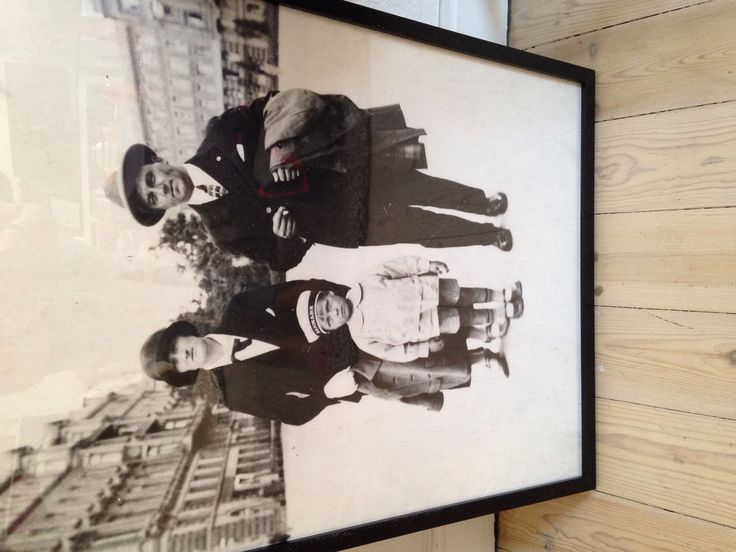 My granddad and his parents. I love this picture!