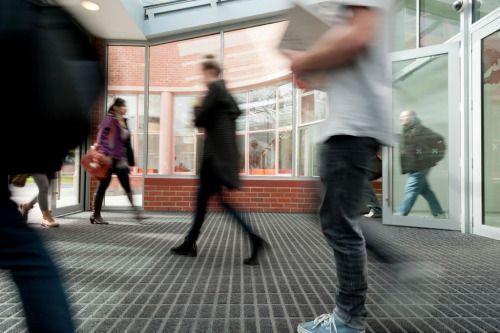 The Base Element - Axis Entrance Matting at Otago University in Dunedin