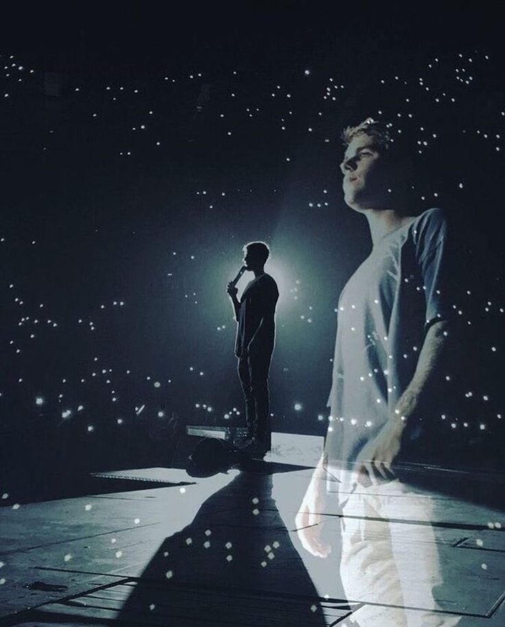Those aren't stars, they are dedicated fans;beliebers