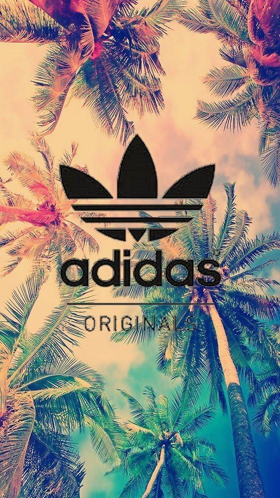 Fond d'écran #Palmier #AdidasOriginal