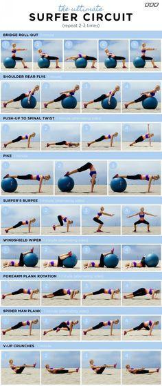 #circuito de #ejercicios
