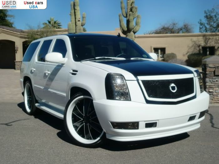 custom caddy cars for sale for sale for 9800 passenger car cadillac escalade v8 awd 2007 in. Black Bedroom Furniture Sets. Home Design Ideas