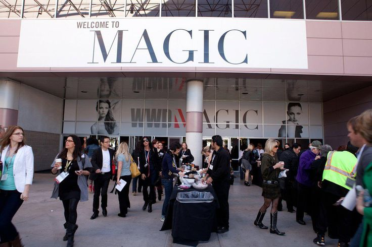 C-THROU: WWD MAGIC FASHION TRADE SHOW IN LAS VEGAS FEBRUARY 2011