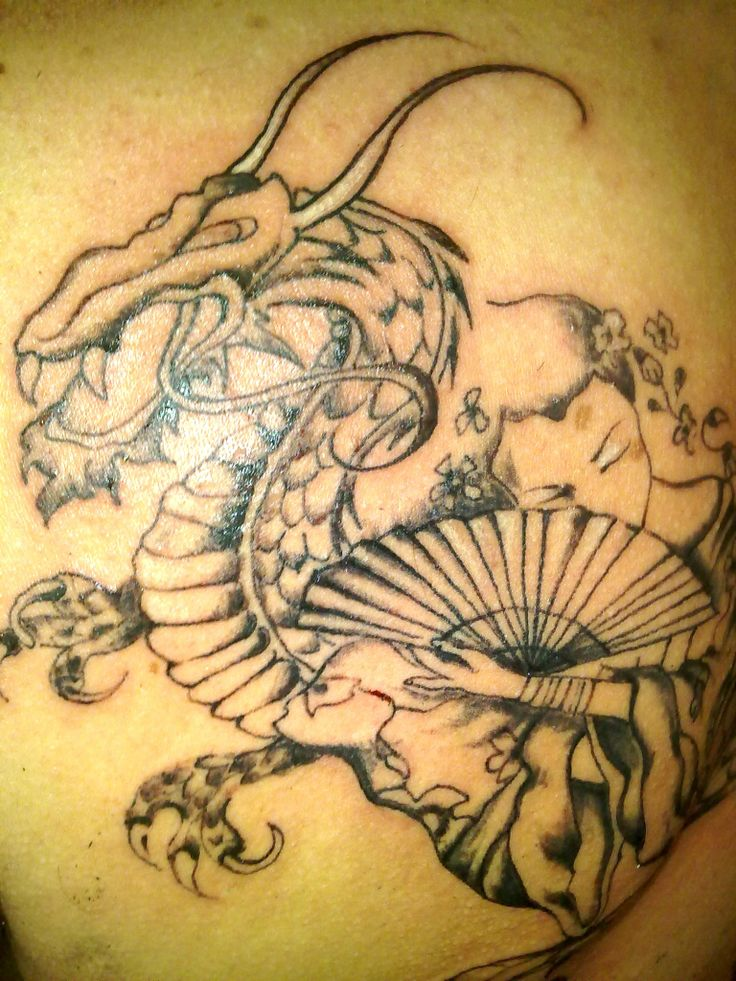 Dragon Tatoo Fusion