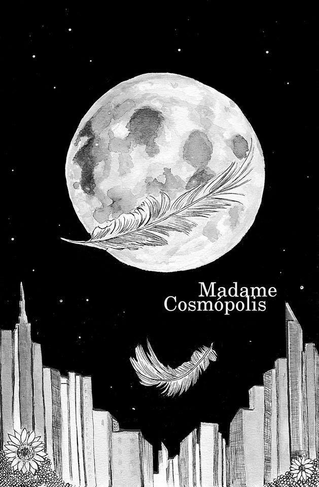Madame Cosmopolis. Capa de livro por Ellen Alves