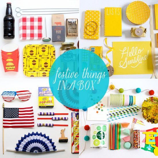 Think Inside The Box: 10 Party In A Box Ideas