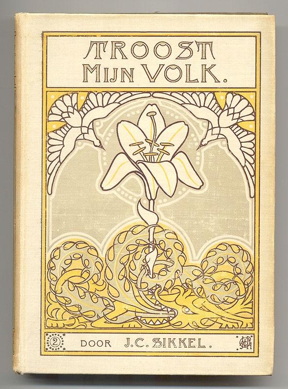 Book Cover Art Nouveau ~ Cover design j p wormser dutch art nouveau book