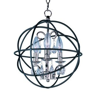 Maxim 25140 Orbit 3 Light 1 Tier Globe Chandelier Image