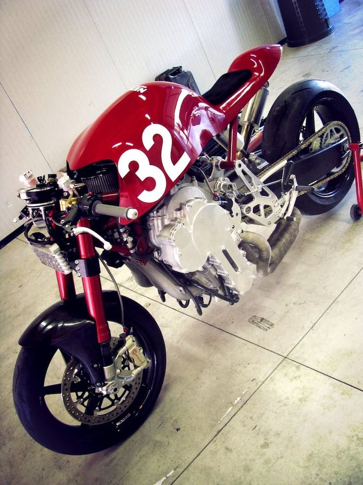 Nembo Super 32 Rovescio Motorcycle, with an upside down engine