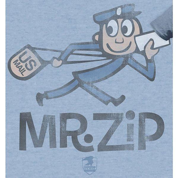 Mr Zip US Postal Service Classic Mascot T Shirt